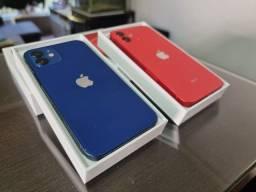 Iphone 12 64gb na garantia apple até 2022, com caixa, cabo usb. Parcela em 12x.