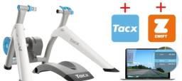 Rolo de treinamento Tacx Vortex smart - interativo - Zwift