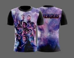 Camisa Vingadores Unissex