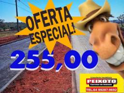 TERRENOS PARCELADOS ////- CALDAS NOVAS 255 POR MES
