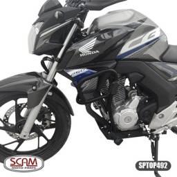 Título do anúncio: Protetor de motor e carenagem com pedaleira Honda CB250F twister 2016 a 2022 scam