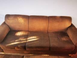 sofás de 2 e 3 lugares