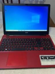 Vendo notebook Acer core i3 de quarta geração