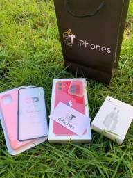 iPhone 11 64gb Lacrado + base e brindes!!