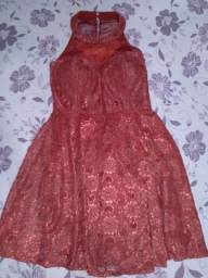 Vestido usado poucas vezes *