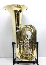 Tuba V.F. Cérveny Made in REPÚBLICA TCHECA Sib 4/4 4 Rotores