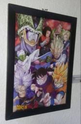 Quadro Dragon Ball Z : Saga Cell