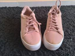 Sapato feminino vizzano rosado