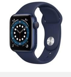 Apple Watch 6 40 Gps Azul Completo Garantia