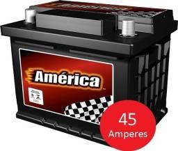 Título do anúncio: Bateria América Racing 45 Ah ? AM45BD - 15m garantia