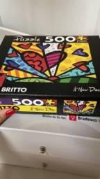 Quebra Cabeça 500peças Happy Day Romero Britto Novo