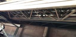 Colunas metálicas para barracão
