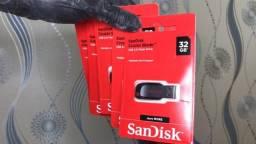 Pen Drive Sandisk Cruzer Blade - 32GB