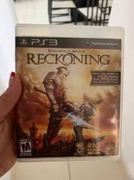 Jogo para PS3 RECKONING ORIGINAL
