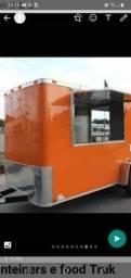 Trailer, container, food truck e quiosque