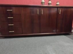Buffet - hack, estante - de madeira maciça nobre