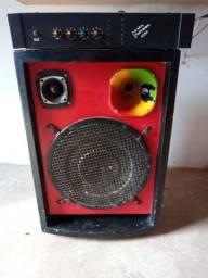 Vendo uma caixa de som e amplificador