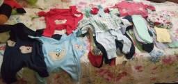 Lote de roupinhas para bebê