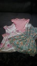 Kit vestidos menina