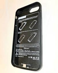 Capa Carregador para iPhone 7 8 6 6s, 4000mAh, Portátil e Protetora. Semiusada
