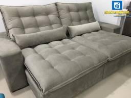 Título do anúncio: sofá de alto padrão madri de 2.50 (NOVO NA EMBALAGEM)