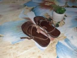Sandália de couro Infantil