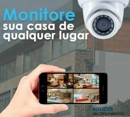 Instalação de Câmeras e Sistemas Segurança (CFTV)