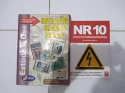 Livros sobre instalações elétricas