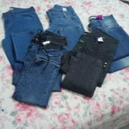 5 calça jeans novas na entiqueta por 60