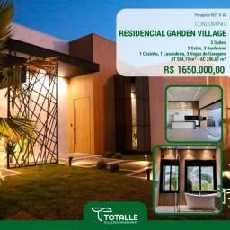 Título do anúncio: Casa Alto Padrão a Venda no Condomínio Residencial Garden Village, Penápolis  (584,19 m²)