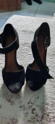 Sandália salto crysalis