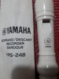 Flauta Doce Soprano Barroca ,YRS-24B