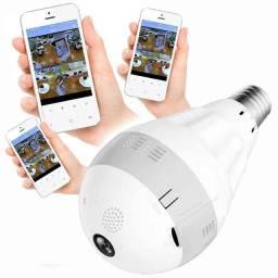 Lâmpada Câmera de Segurança 360°:
