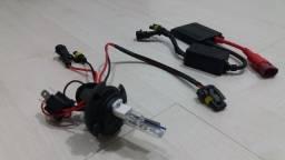 Kit lâmpada de xênon 8000k para moto R$ 60