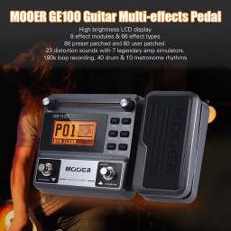 Pedaleira para guitarra Mooer