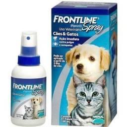 Frontline spray cães e gatos