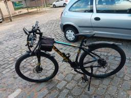 bicicleta audax havok nx aro 29 24v tamanho 19 hidráulico com trava k7