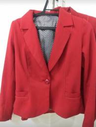 Blazer Red Jacket