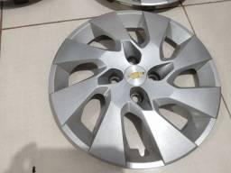 Jogo calotas aro 15 original Chevrolet prisma