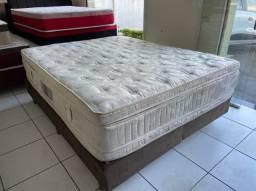 cama box ORTOBOM higienizada queen size