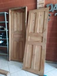 Portas com cachilho 210 x 70 madeira