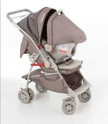 Carrinho + bebê conforto Galzerano Piccolina, 2 meses de uso
