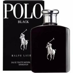 Perfume Polo Black 125ml Ralph Lauren - Original - Lacrado