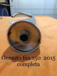 Gemoto 2 abafadores fan 125/150