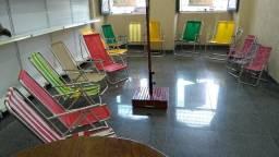 Cadeira de praia fabricamos