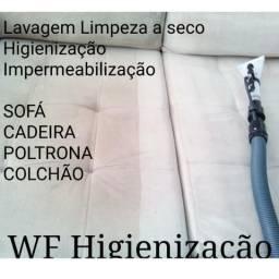 WF Higienização Limpeza de estofados.