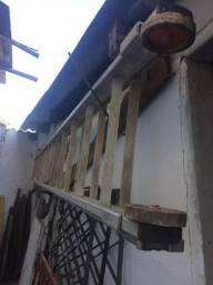 Escada alumínio 30 degraus extensível