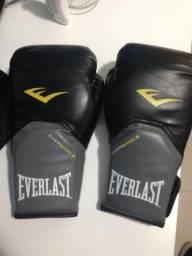 Luva boxe/muay thai everlast 12oz