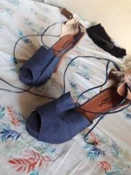 Vendo sapato usado somente uma vez n°37