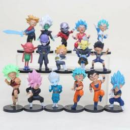 Miniaturas de Dragon Ball Goku Vegeta Jerin Gohan